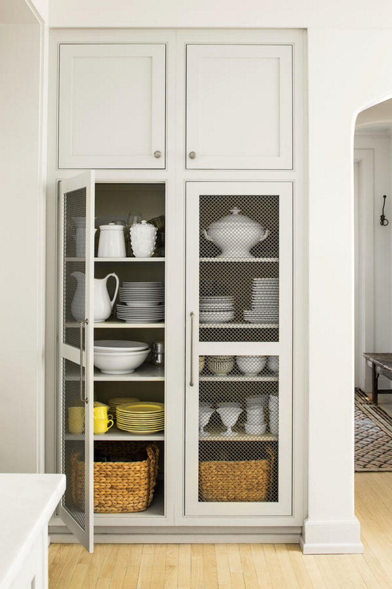 Wire Mesh For Cabinets Trends We Love Wire Mesh Cabinets Studio Mcgee