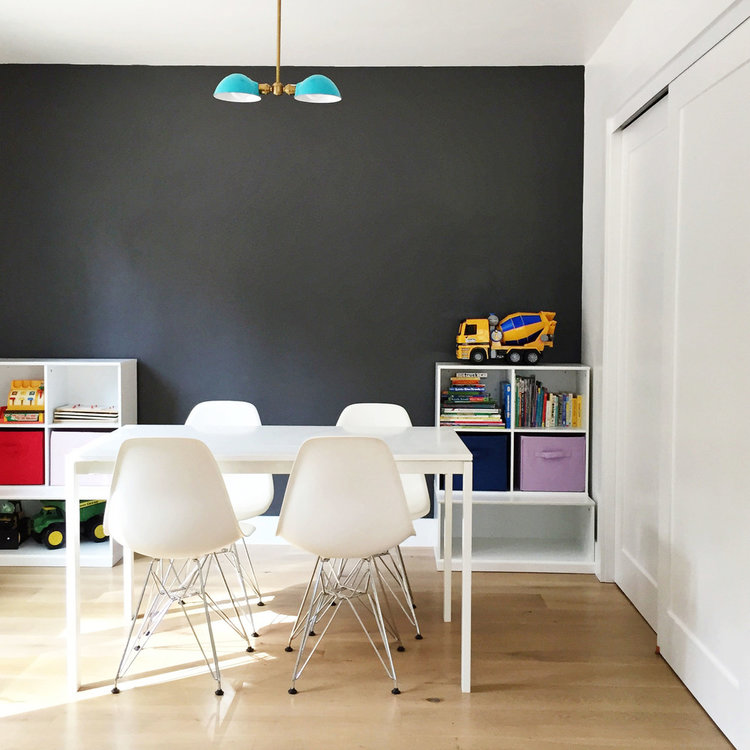 Yes Or No Accent Walls STUDIO MCGEE - Chalkboard accents dining rooms