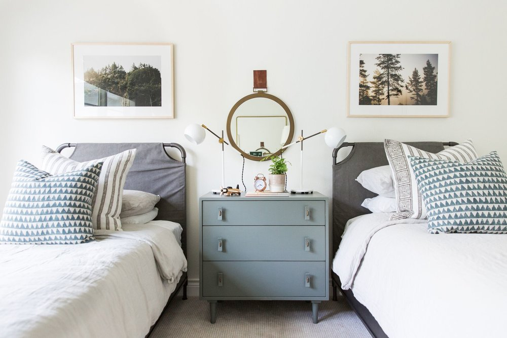 Coastal Bohemian Kids' Bedroom