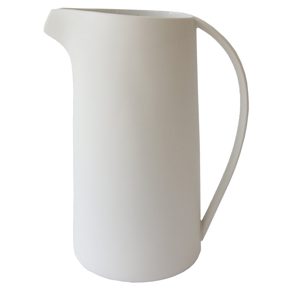 Curved Handle Pitcher