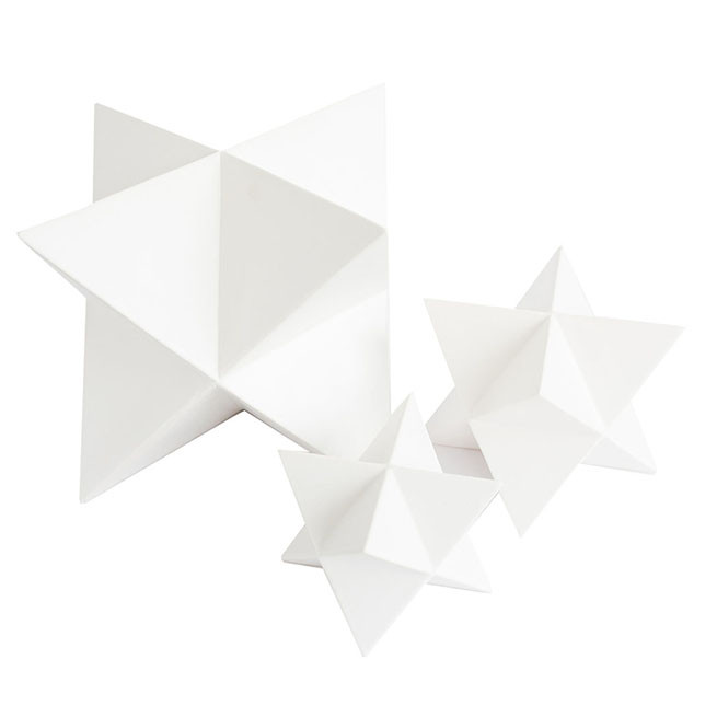 White Matte Star - McGee & Co.