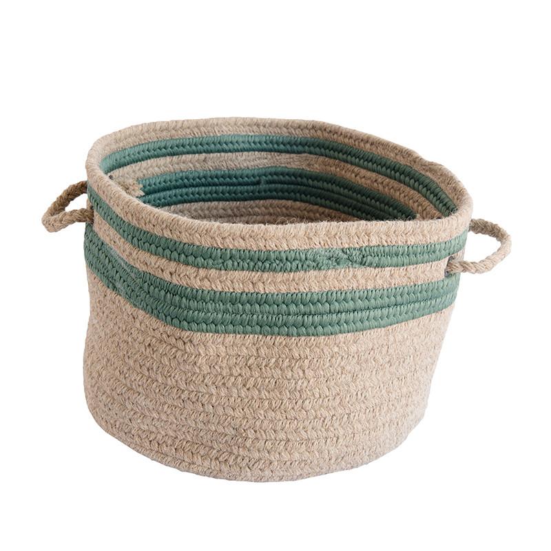 Green_Stripe_Wool_Basket_1.jpg