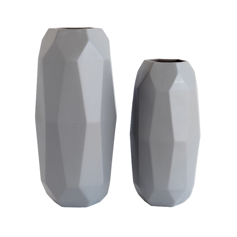 Faceted Vases - McGee & Co.
