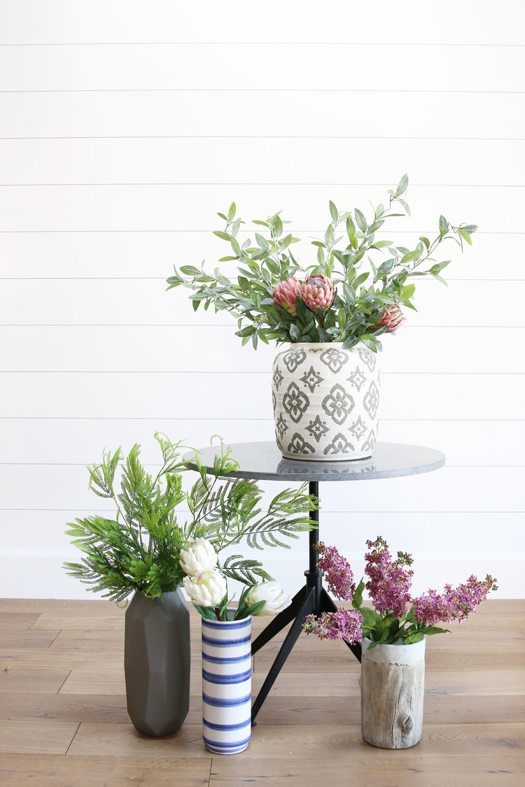 How to style faux greenery studio mcgee tips and tricks for styling faux greenery reviewsmspy