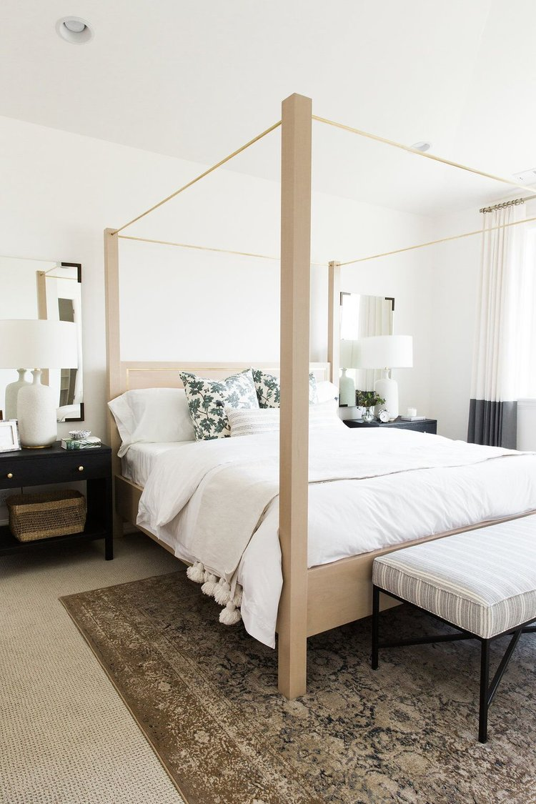 They're proof that a simple piece of furniture can make a big statement. A  canopy bed anchors the space, adds height, and gives a room a grandeur  focal ...