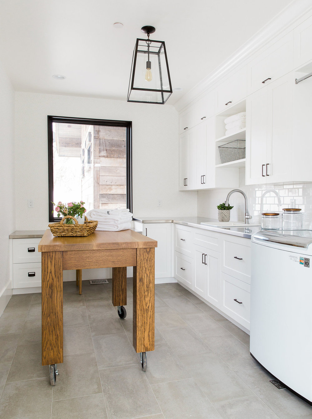 laundry room furniture diy we not only like to focus on good lighting for functionality but pretty light can also work as beautiful focal point of room and take the design tips perfect laundry room