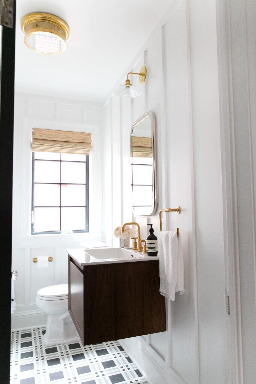 Bathroom Lighting Solutions STUDIO MCGEE - Bathroom overhead lighting