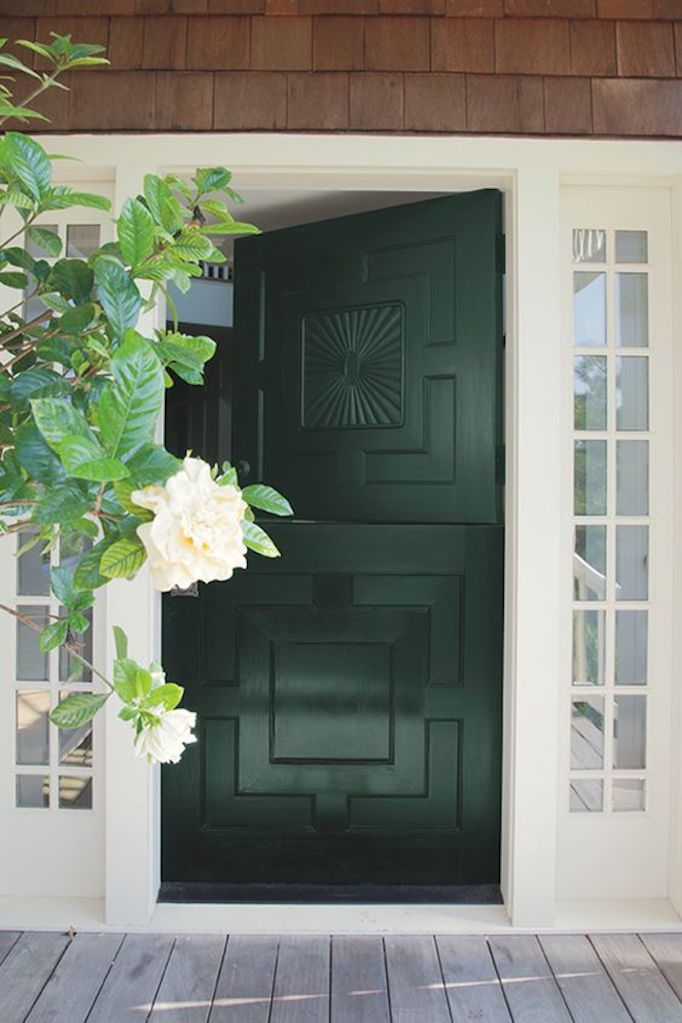 Benjamin Moore  Tavern Door  / Photo from  Benjamin Moore