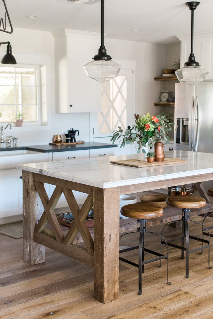 Handmade Kitchen Islands: Trends We Love: Open Islands