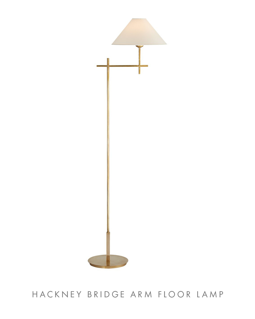Hackney Arm Floor Lamp - McGee & Co.