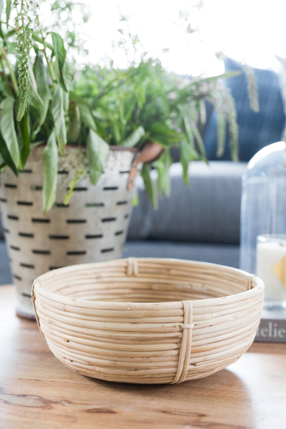 Shop  Cane Rattan Circle Baskets