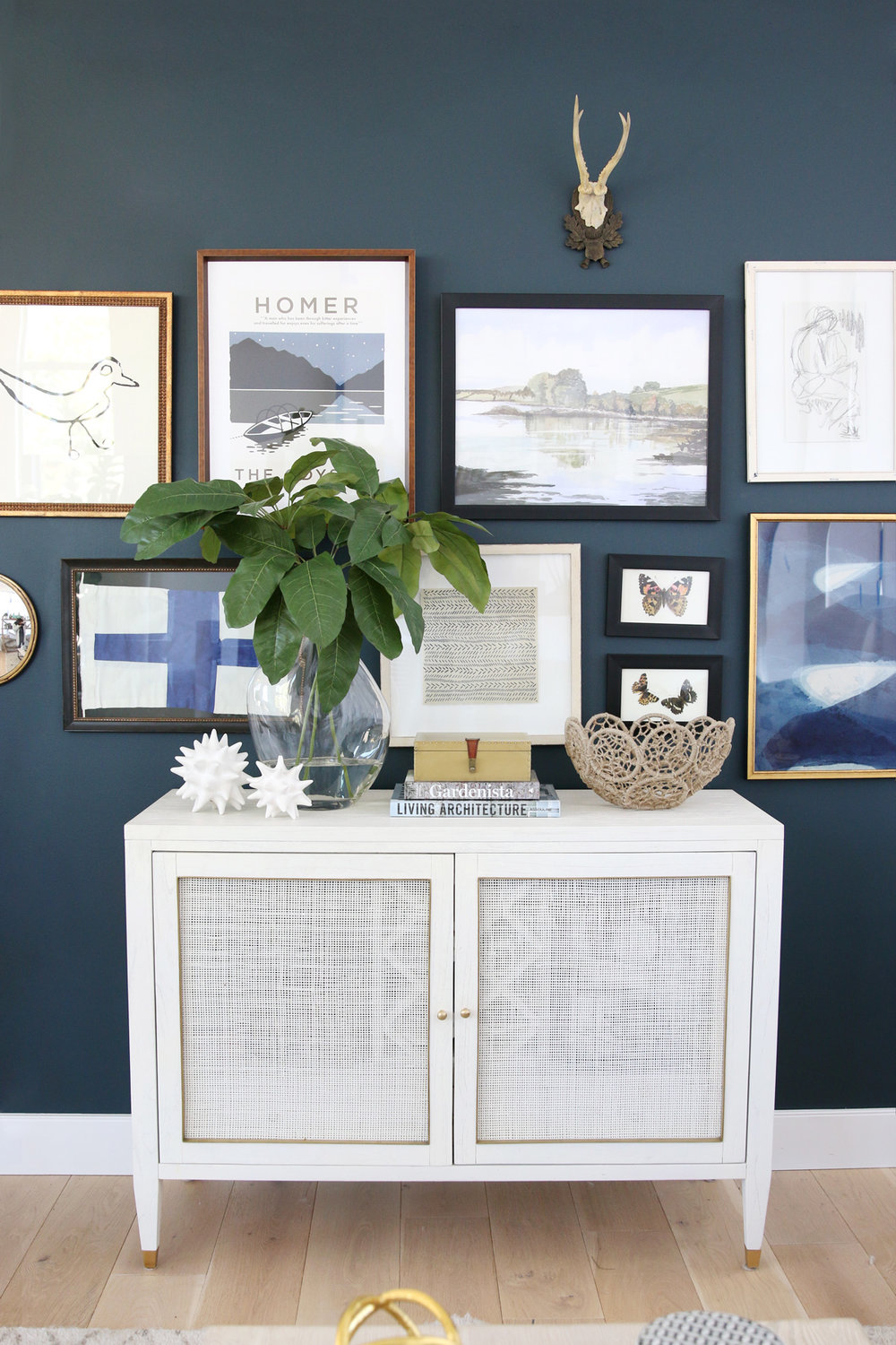 Blog Post:  How to Create an Eclectic Gallery Wall