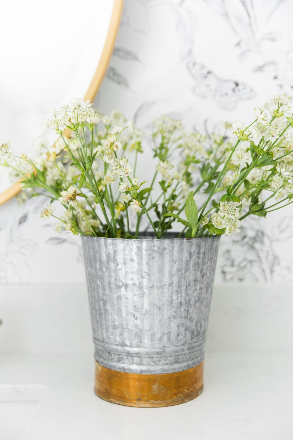 Shop  Galvanized Metal Planter