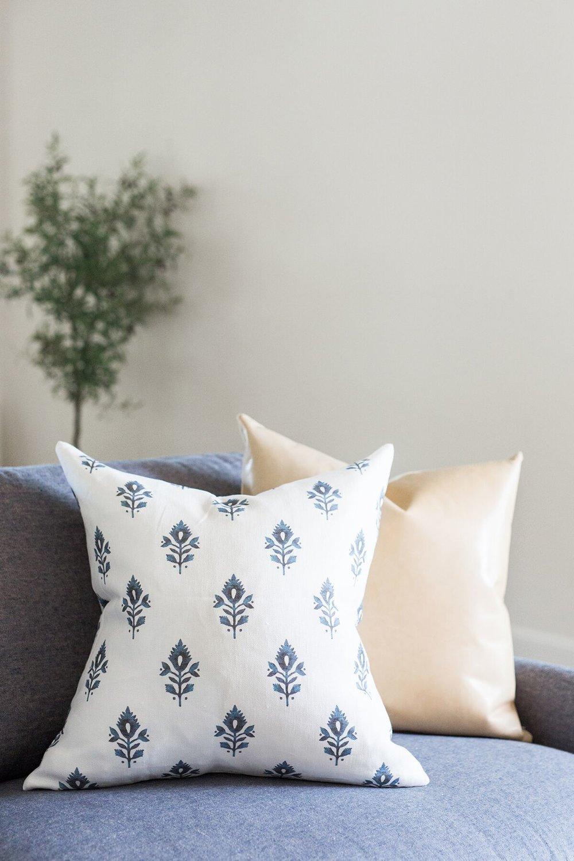 Shop Pillows:  Addison Block ,  Palomino Leather