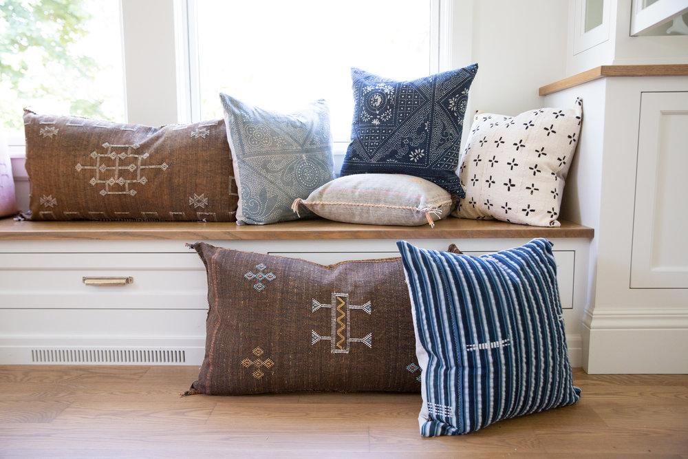 Cactus Silk Sabre Pillow
