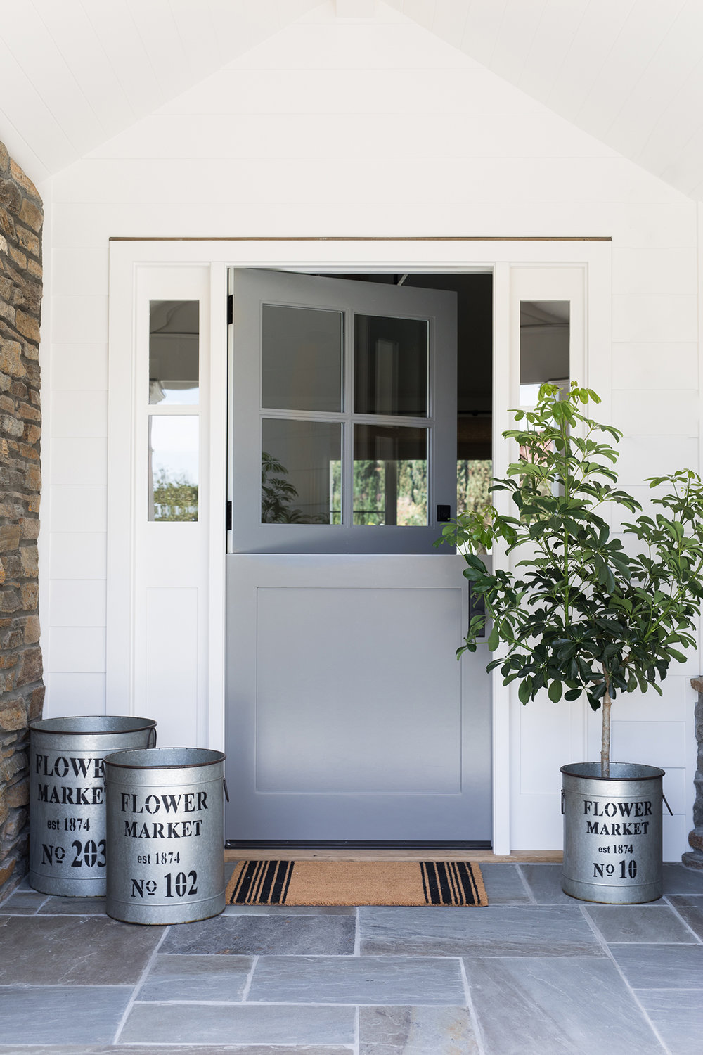 Orange County Ranch Remodel Dutch Door, Exterior Inspiration