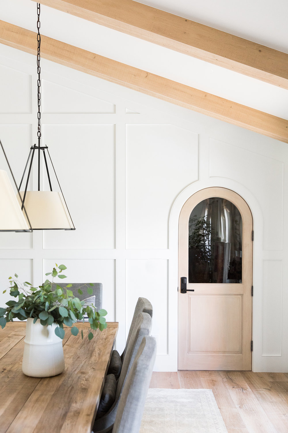 Arch Door | Arched Doorway | Dining Room