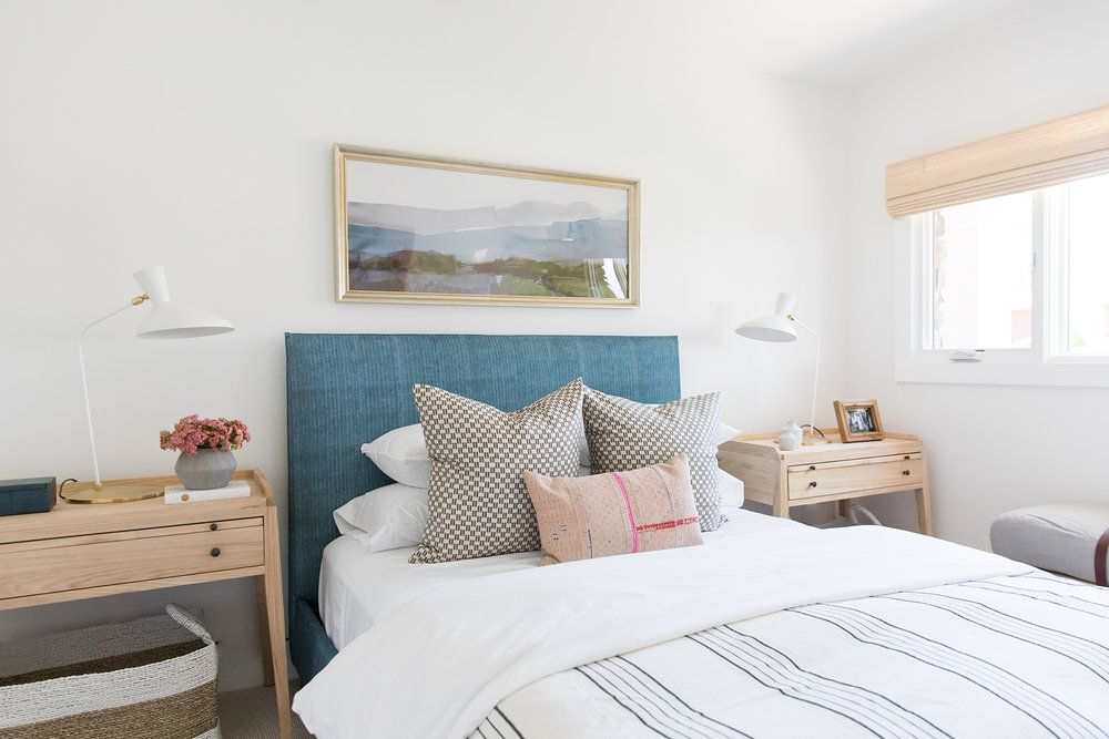 Coastal, eclectic, textured, ranch style bedroom in Southern California   Studio McGee Blog
