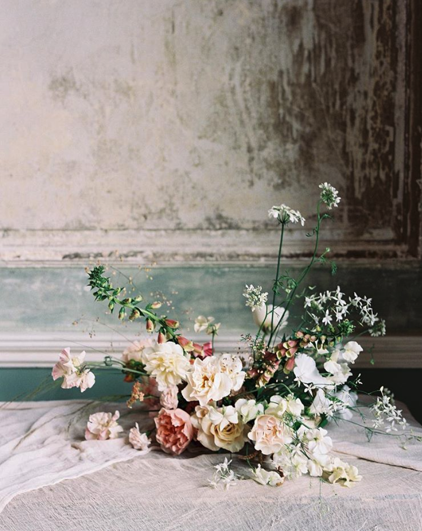Arrangement by  Hunt and Gather Floral