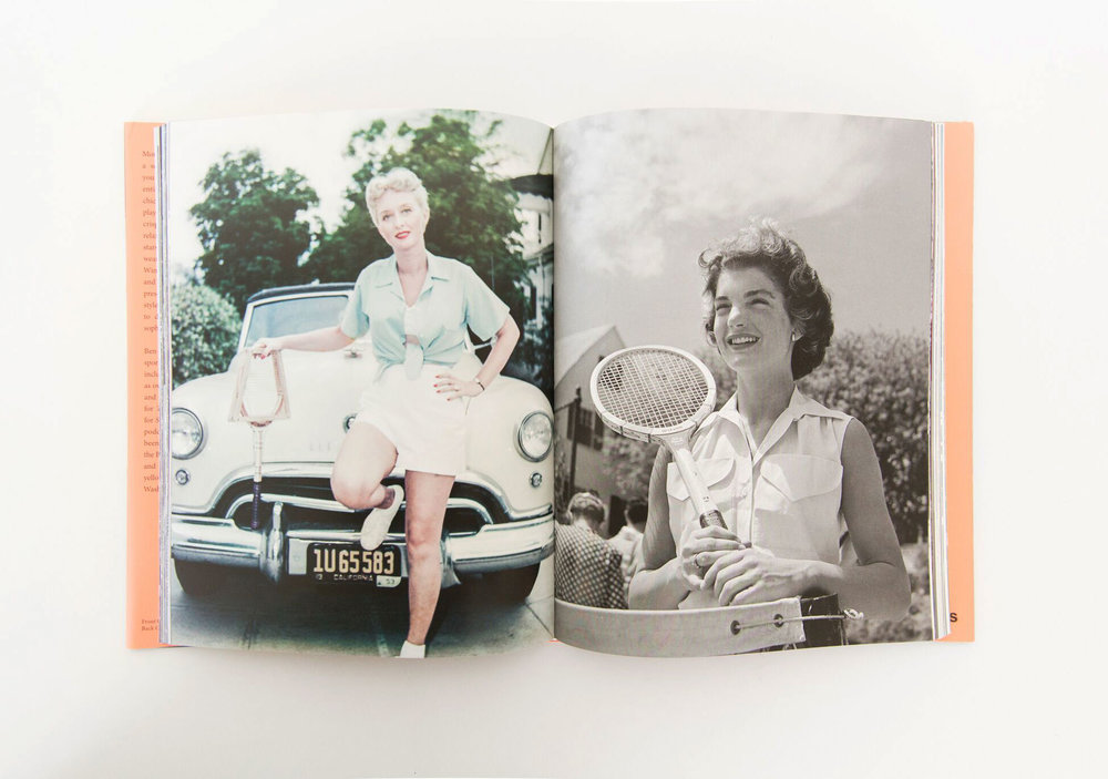 The Stylish Life: Tennis Decorative Coffee Table Book | mcgeeandco.com