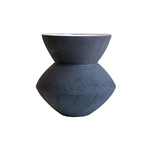 Texture, dark scratch vase from McGee & Co. | mcgeeandco.com