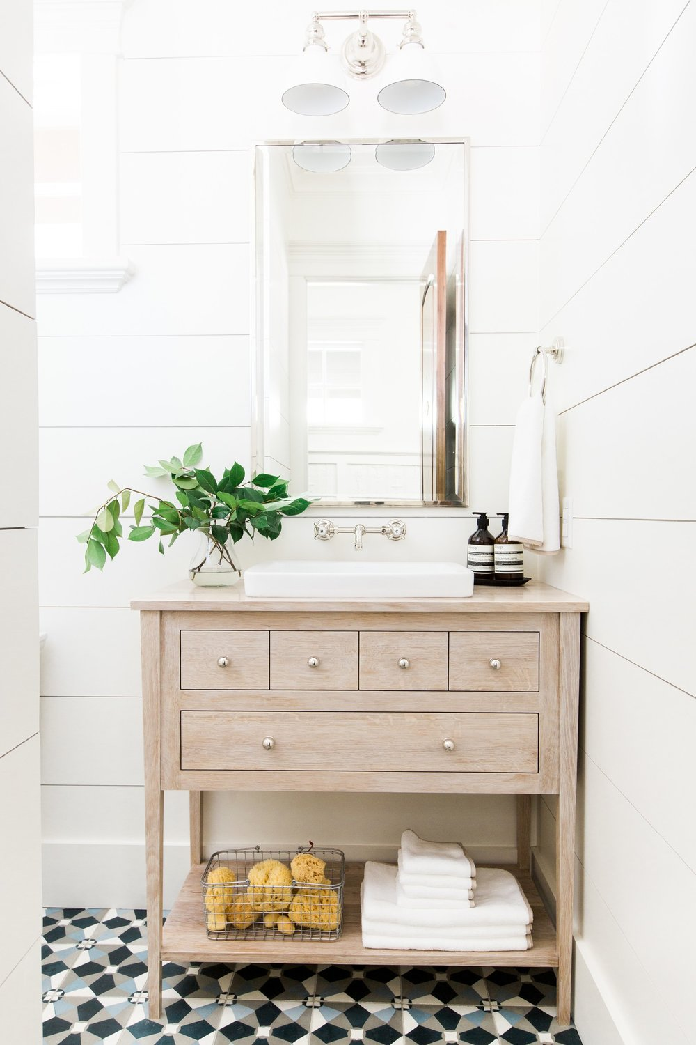 Wide+shiplap+planks,+bleached+oak+vanity+and+cement+tile+floors+__+Studio+McGee.jpg