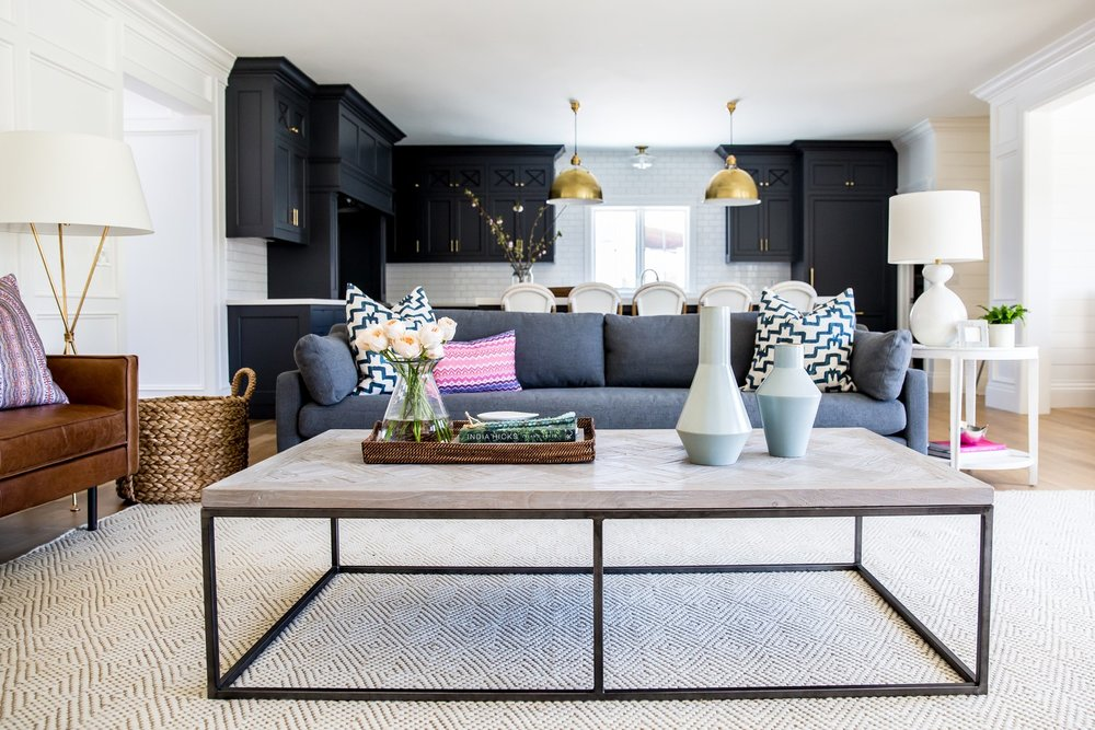 Claybourne project living room tour || Studio McGee