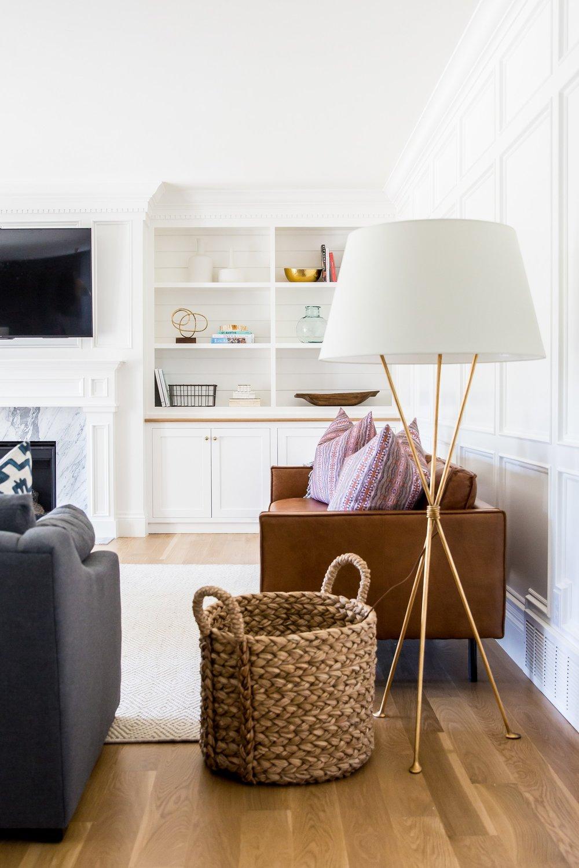 Gold+Floor+lamp+and+leather+sofa+__+Studio+McGee.jpg
