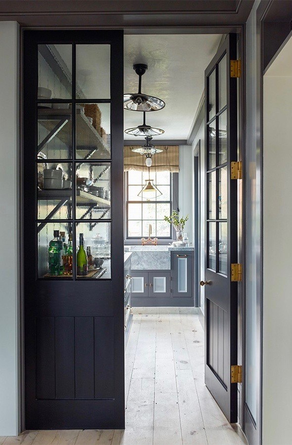 Sag Harbor Home decorated by Steven Gambrel
