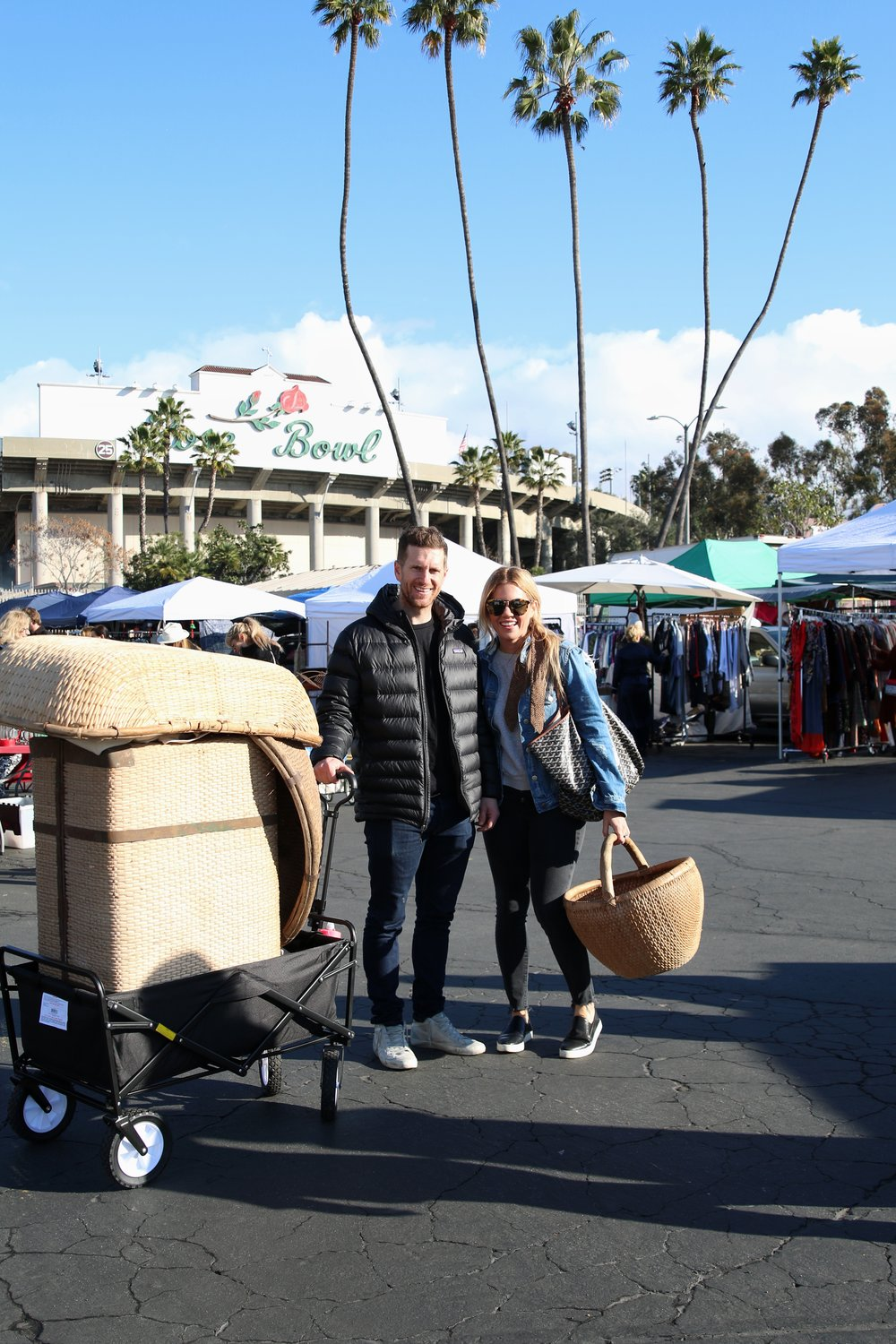 Studio McGee at the Rose Bowl Flea Market