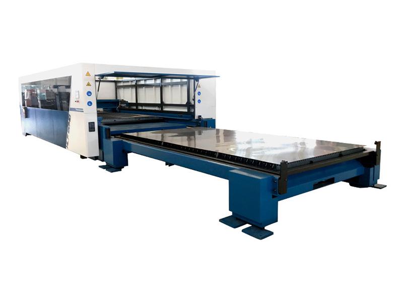 Yawei HLF Series Fiber Laser Exchange Table