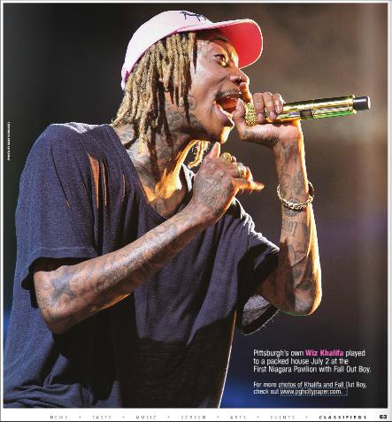 Pittsburgh CityPaper - Wiz Khalifa Feature