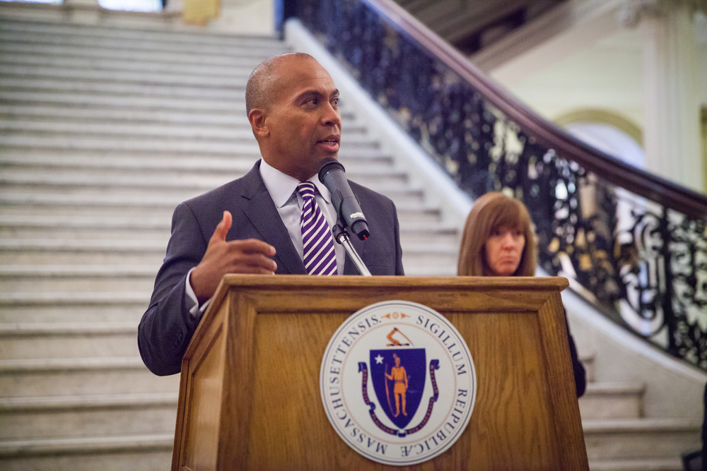 Governor Deval Patrick - Massachusetts State House - Boston, MA