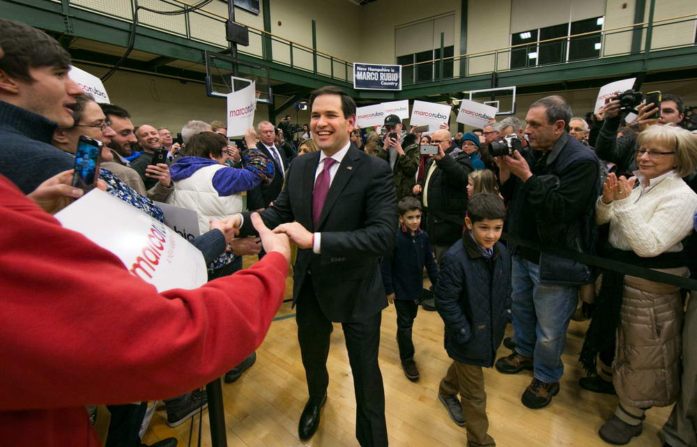 02/08/16 - Marco Rubio Election Coverage - Nashua, New Hampshire