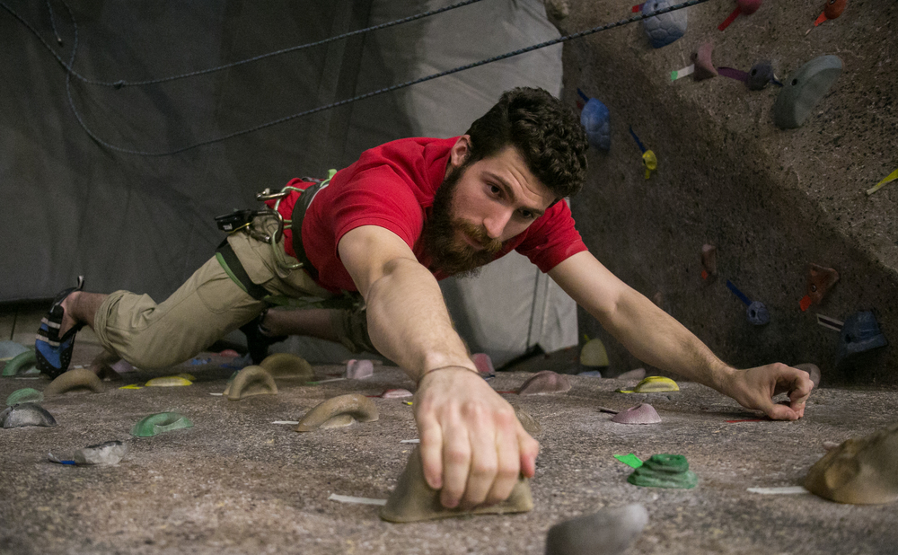 Jeff Trovato - Boston University Climbing Instructor