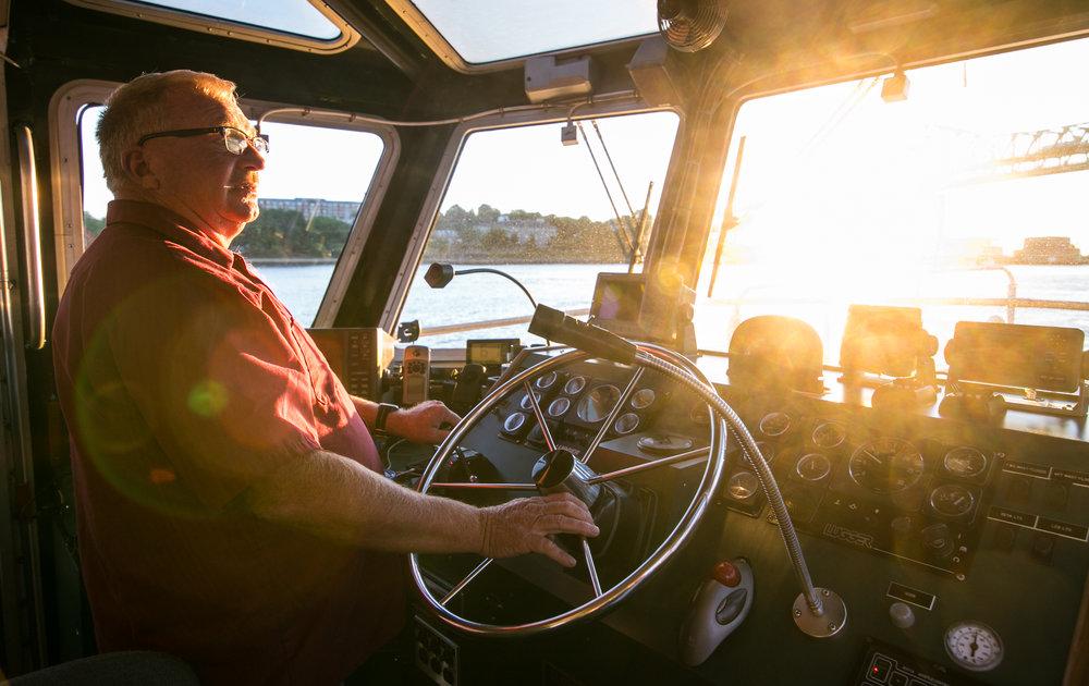 Pilot Boat Captain Shawn Kelly
