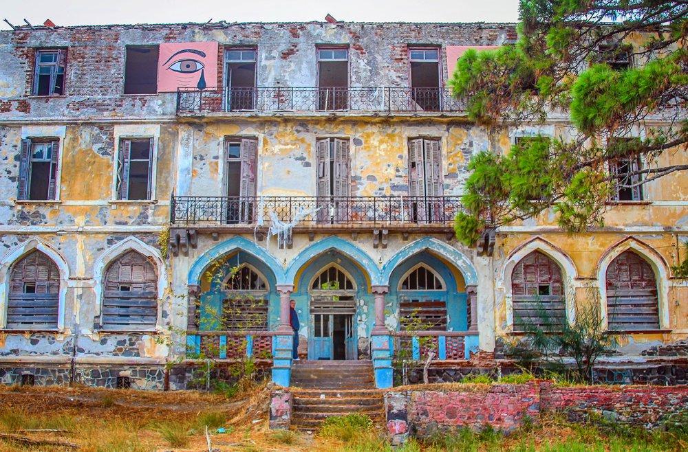 Abandoned Turkish Hotel - Lesvos, Greece
