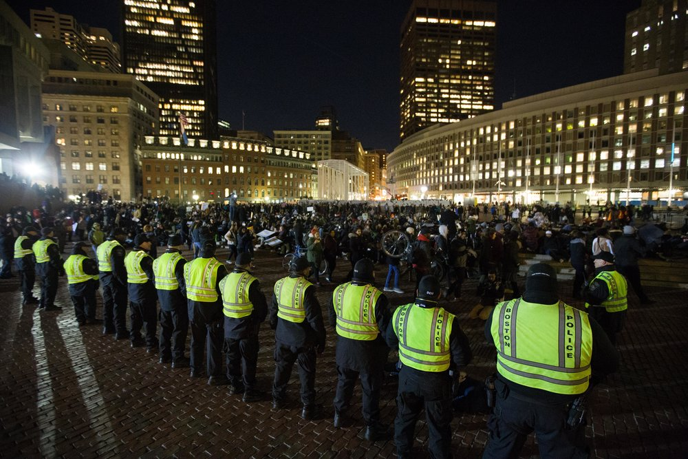 12/04/14 - Michael Brown Protests - Boston, MA