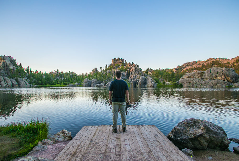 Sylvan Lake, Custer State Park, SD