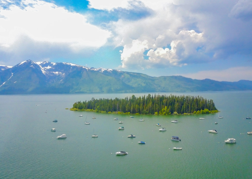 Leek Marina - Grand Teton National Park, WY