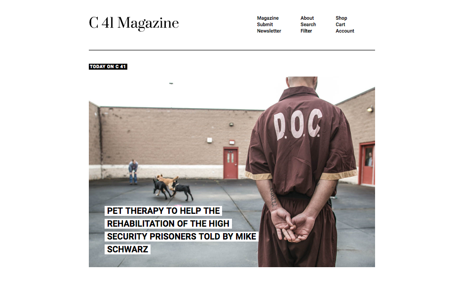 "C41 Magazine - ""Training Day"""