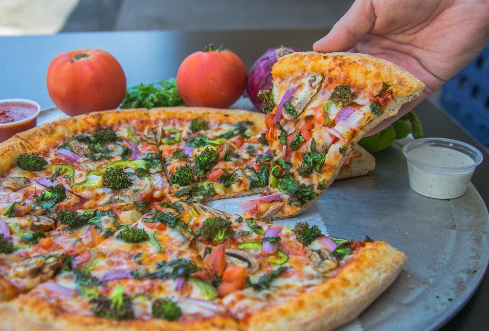 RnB's Pizza - Menu Shoot