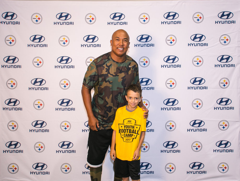 Heinz Ward Youth Football Camp - August 2017 - Pittsburgh, PA