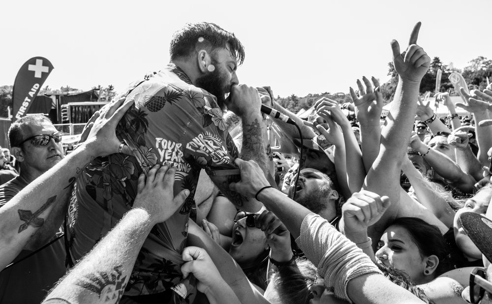 Vans Warped Tour '16 - Boston