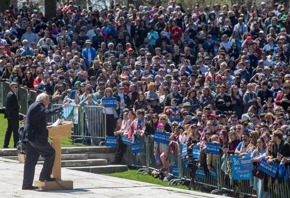 2016 Primary - Bernie Sanders Rally - Rhode Island