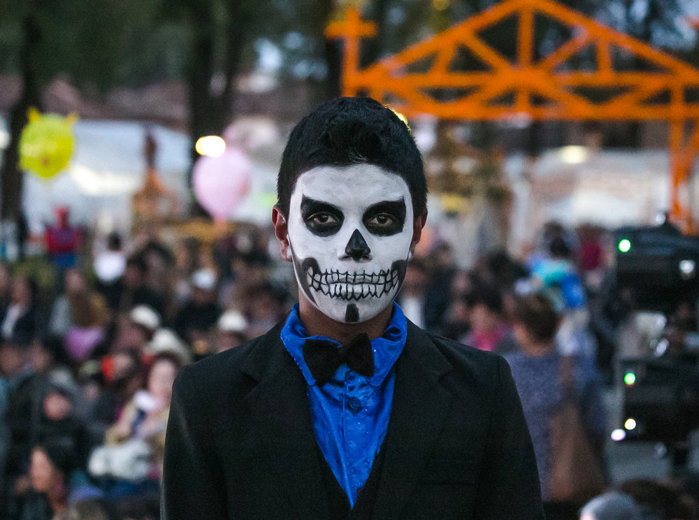 """Past the Masks"" - Dia de los Muertos - Patzcuaro, Mexico"