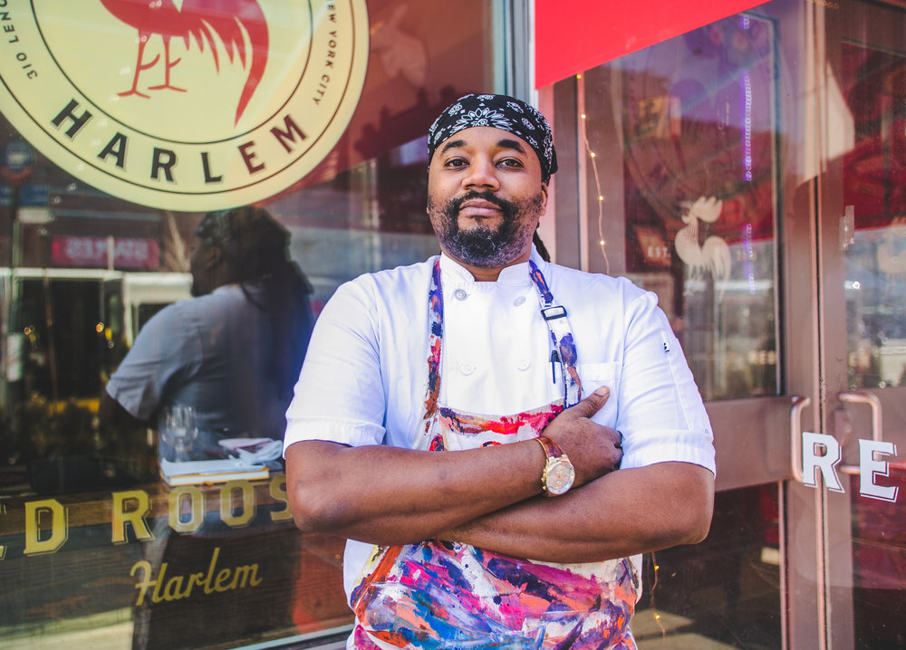Chef Ed - Red Rooster - Harlem, NY - Black History Month - UberEats