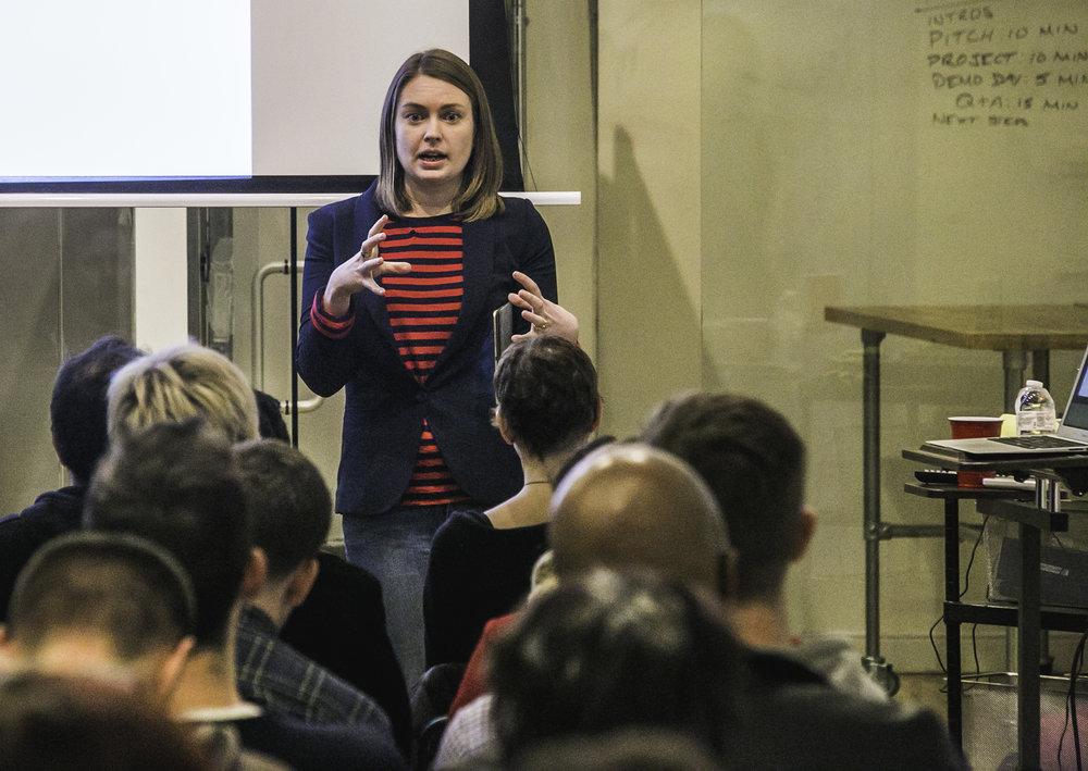Communities Defining the Future Series - Speaker  Berit Anderson