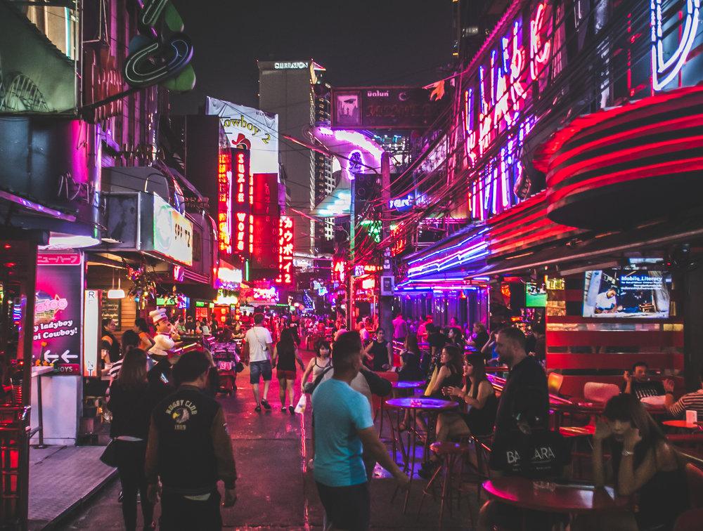 Soi Cowboy - Bangkok, Thailand