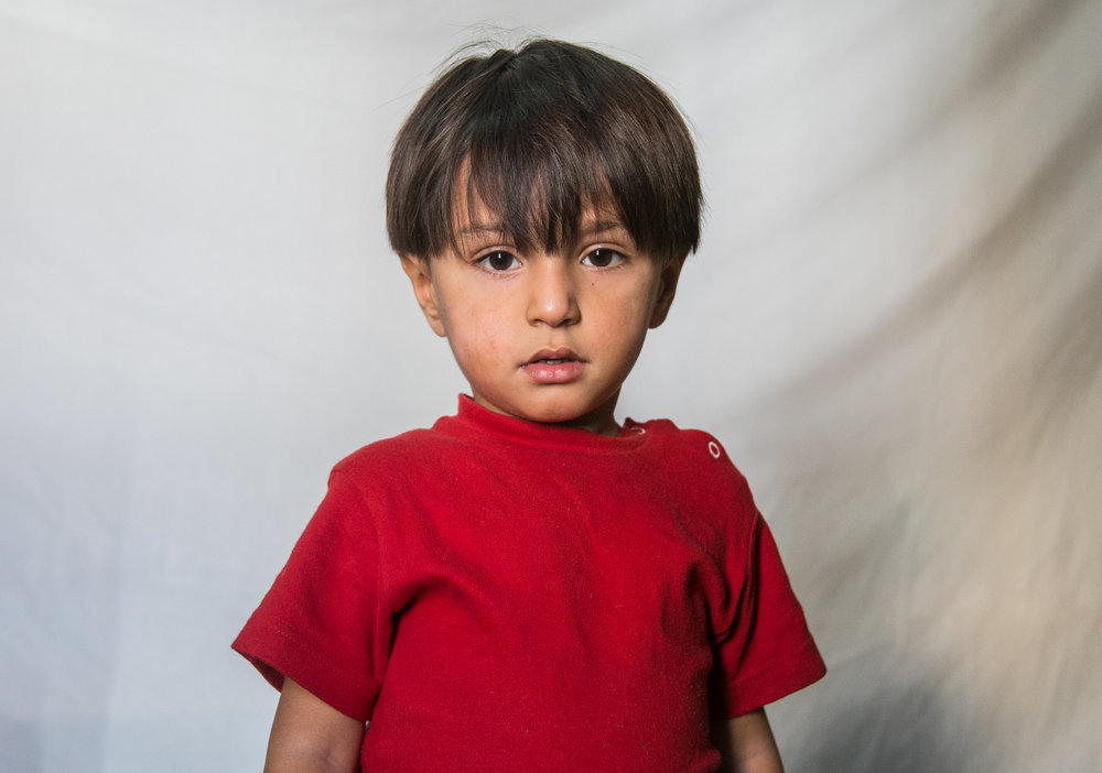 Ali Alowi, 3, of Syria
